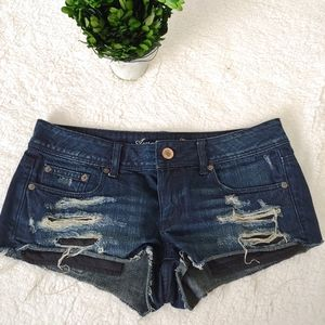 American Eagle jean shorts size 6i